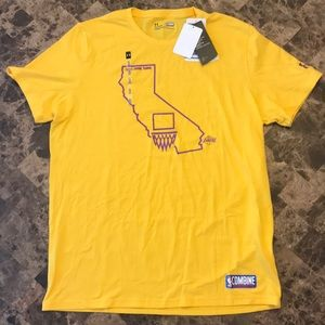 Under Armour Los Angeles Lakers Combine Tee